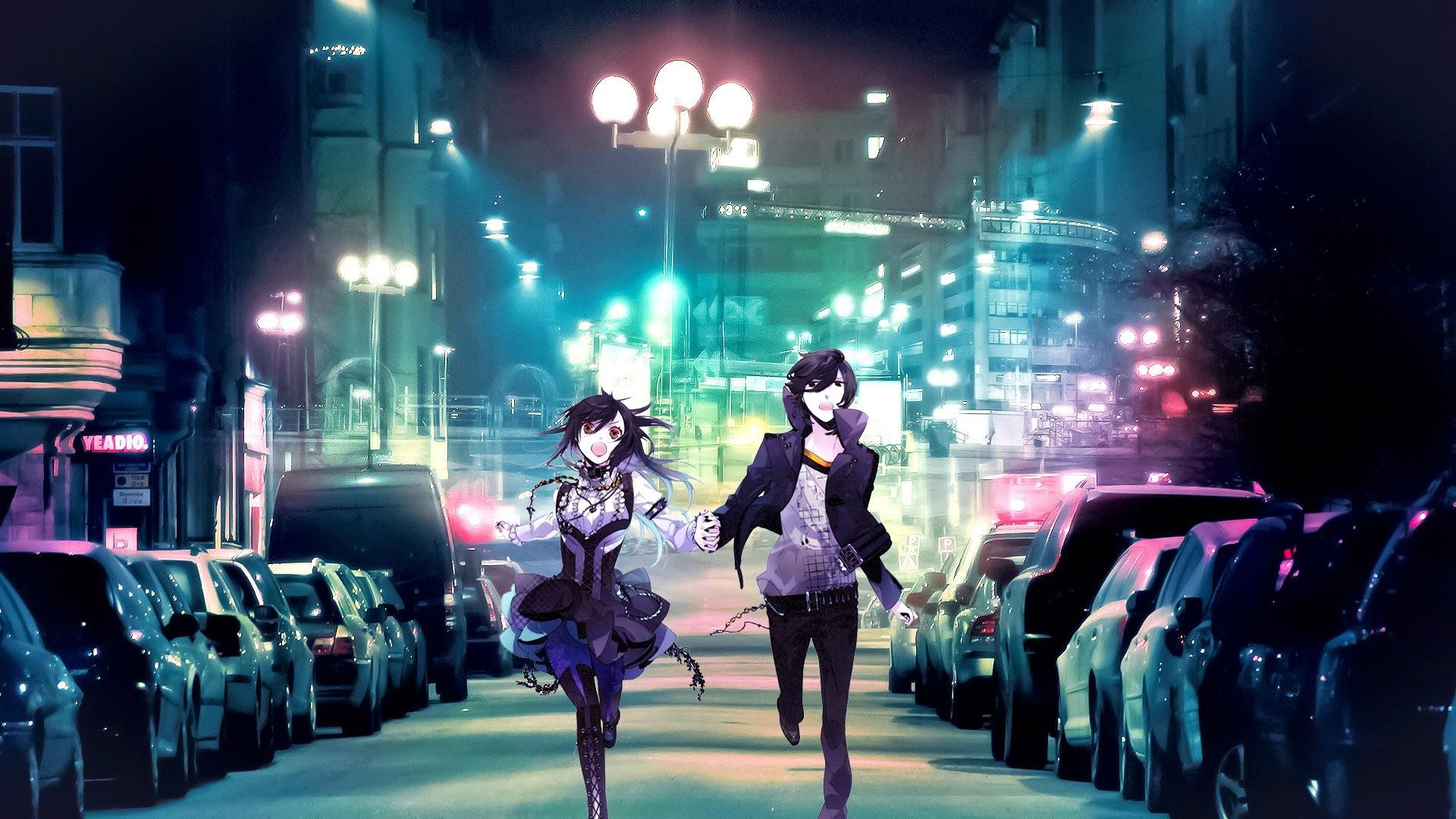 Cute Couple Anime Wallpaper #16503 Wallpaper | High Resolution