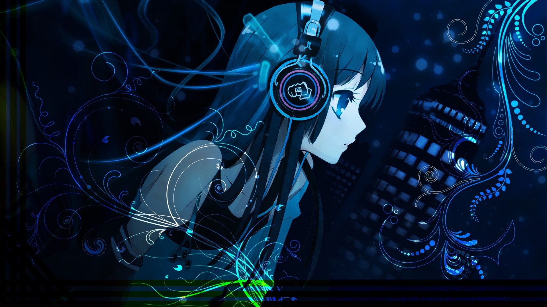 Headphone Girl Wallpapers Group (68+)