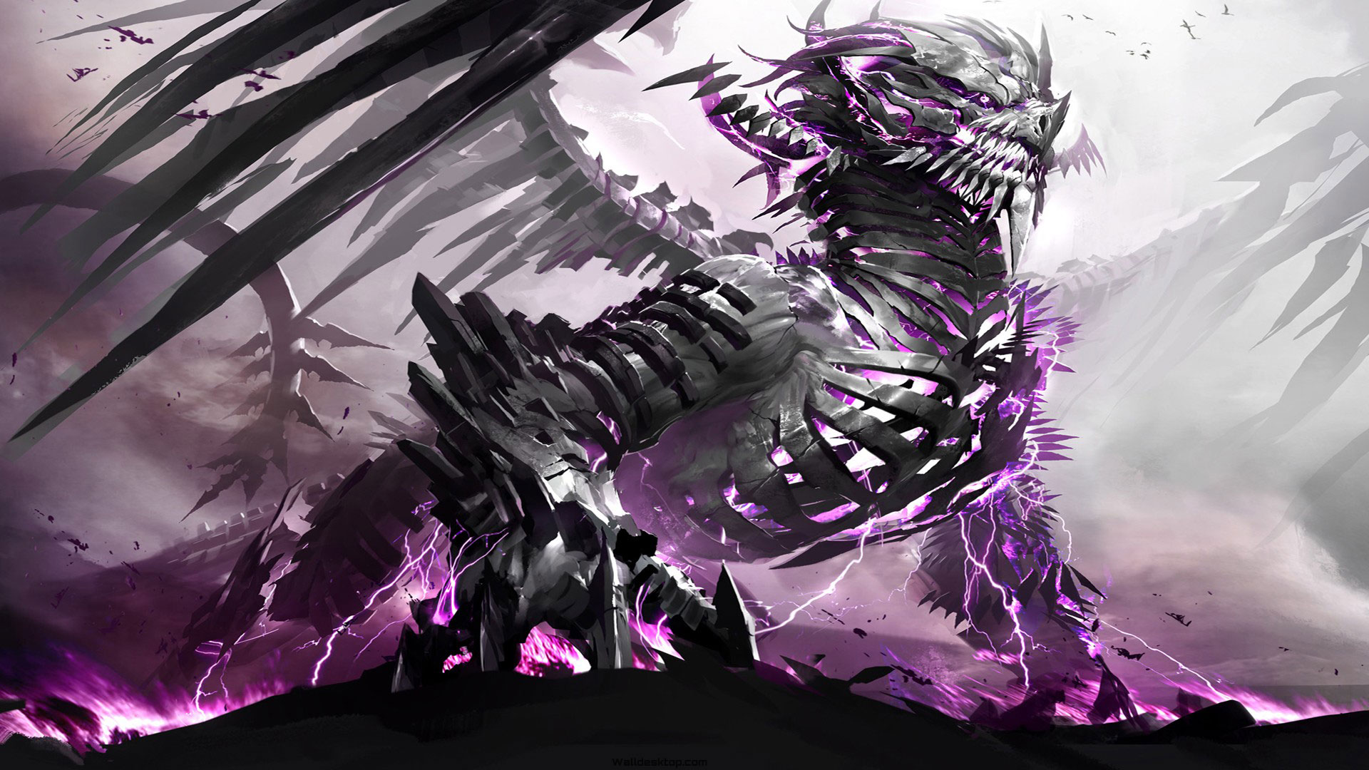 Anime Dragon Wallpaper