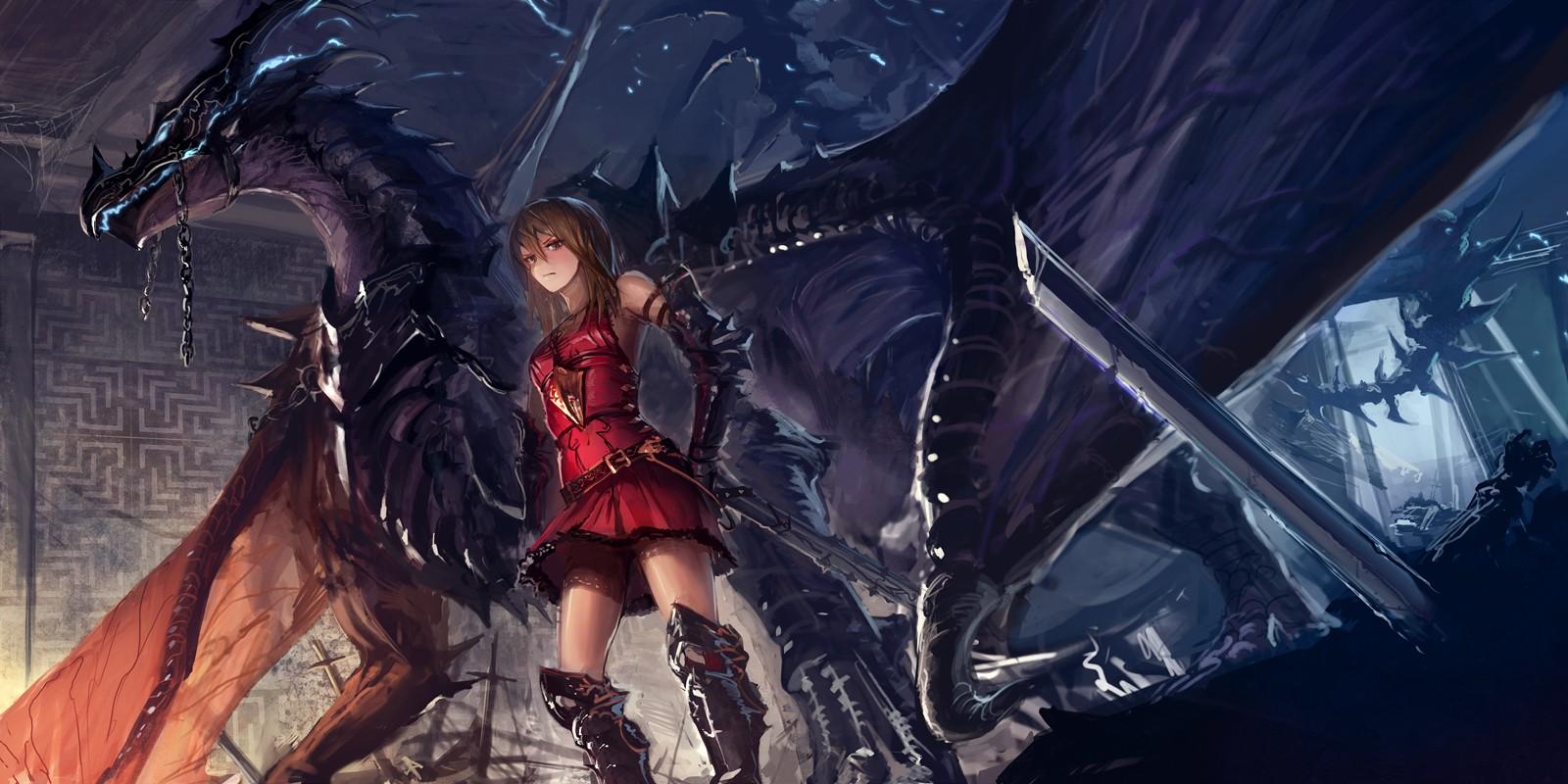 Anime Dragon Wallpaper