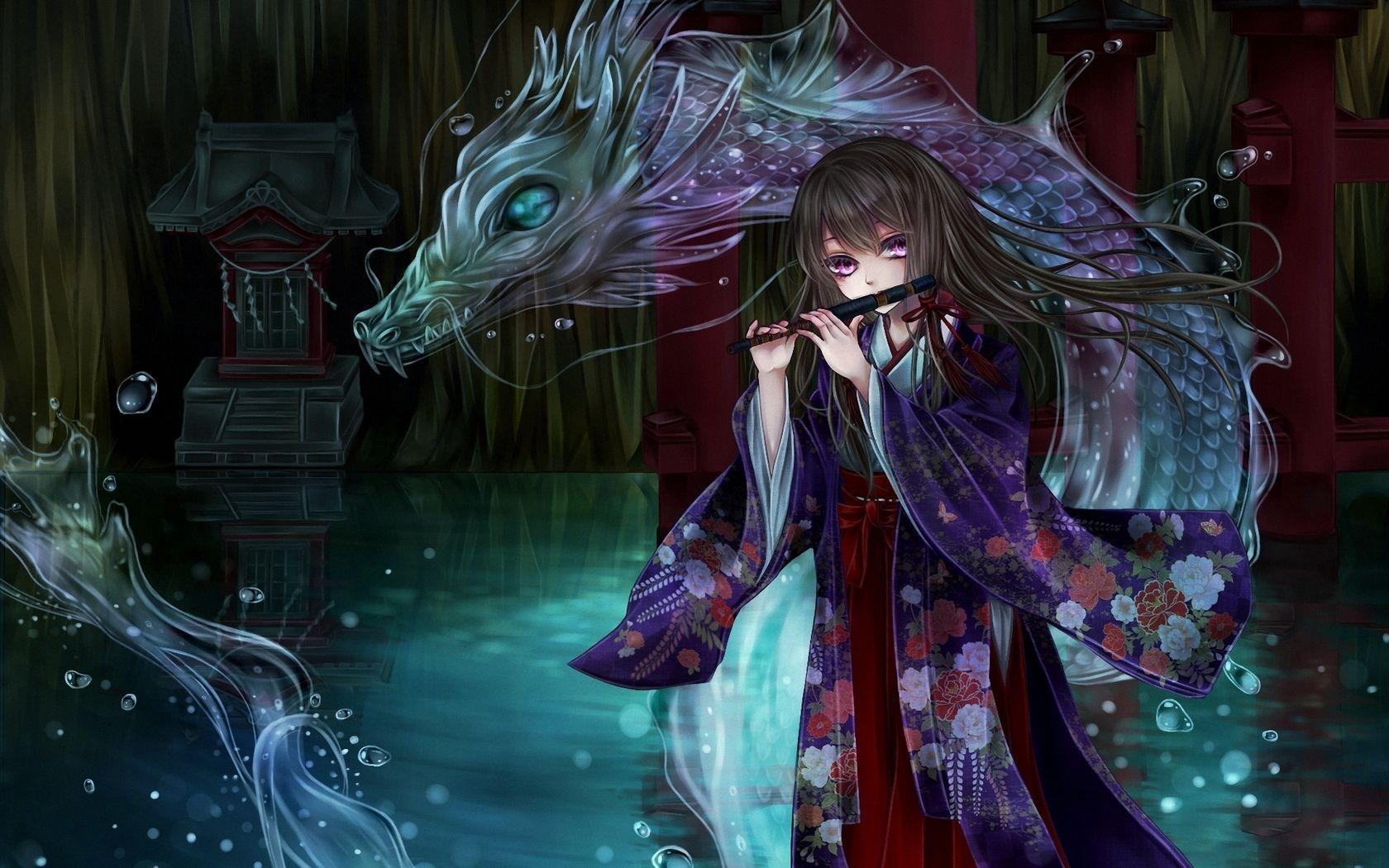 FHDQ Anime Dragon, by Dreda Handscomb