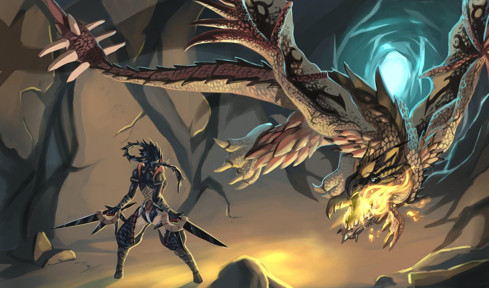 Anime Dragon Wallpaper - WallpaperSafari