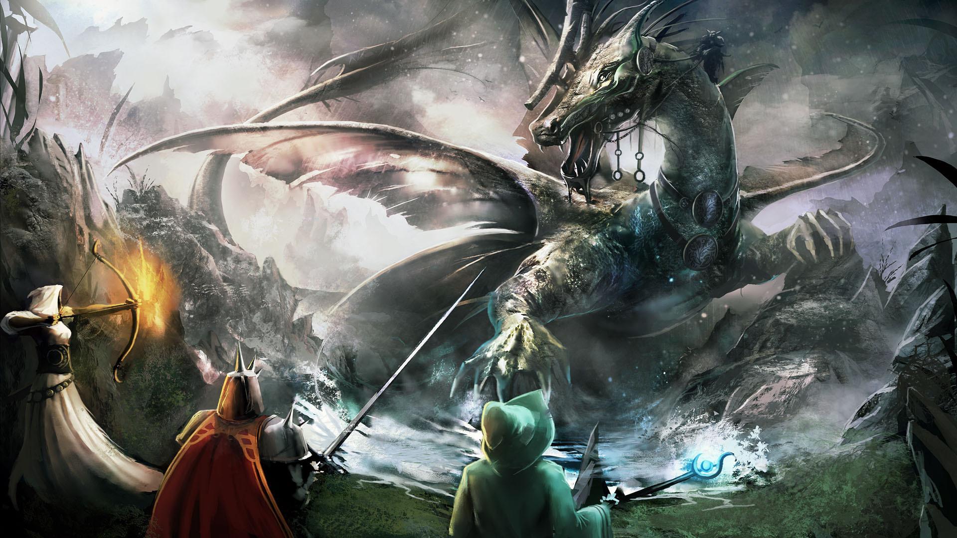 Anime Dragon Wallpaper Wallpapersafari