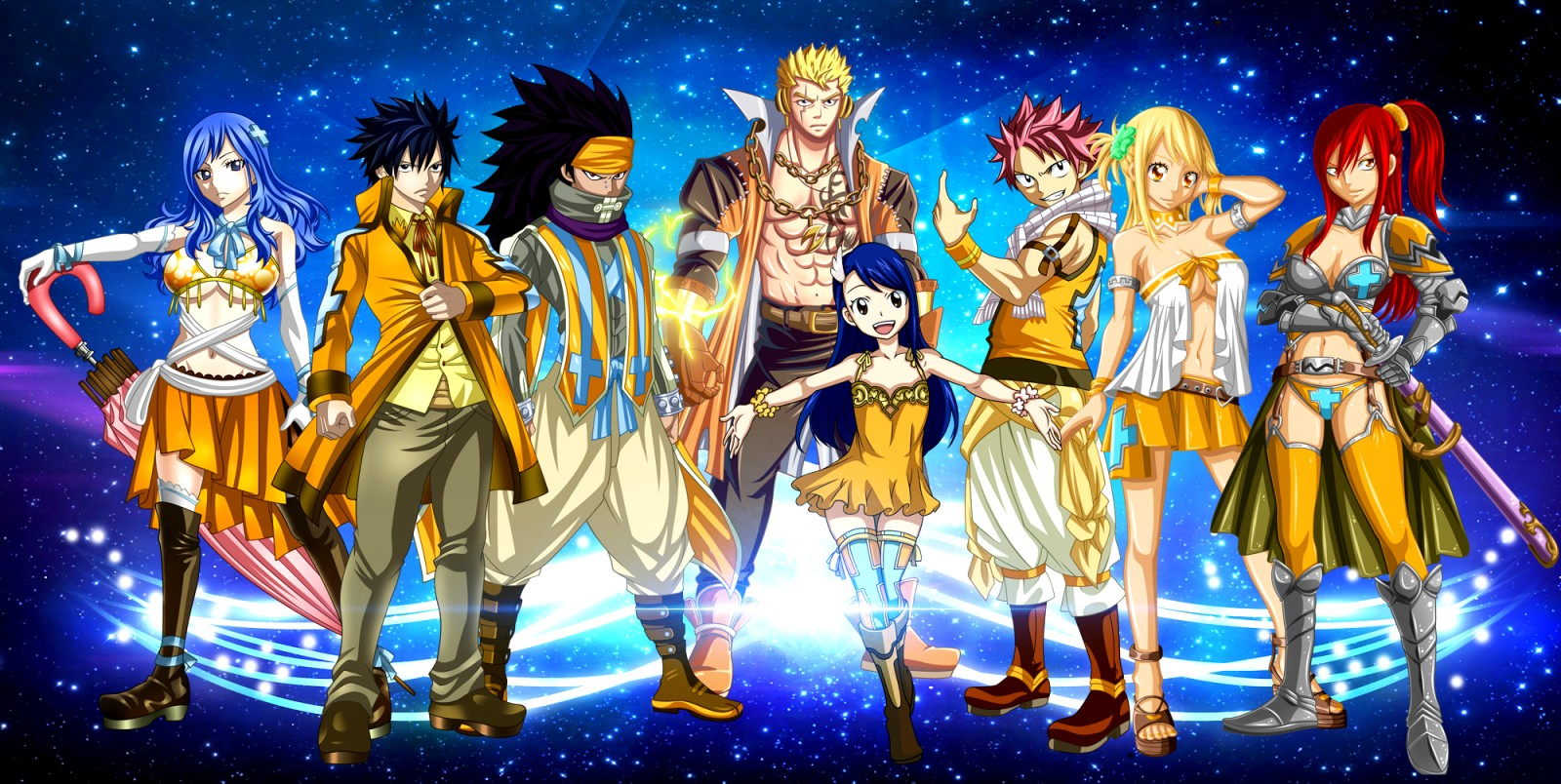 Fairytail Anime Wallpapers Group (62+)
