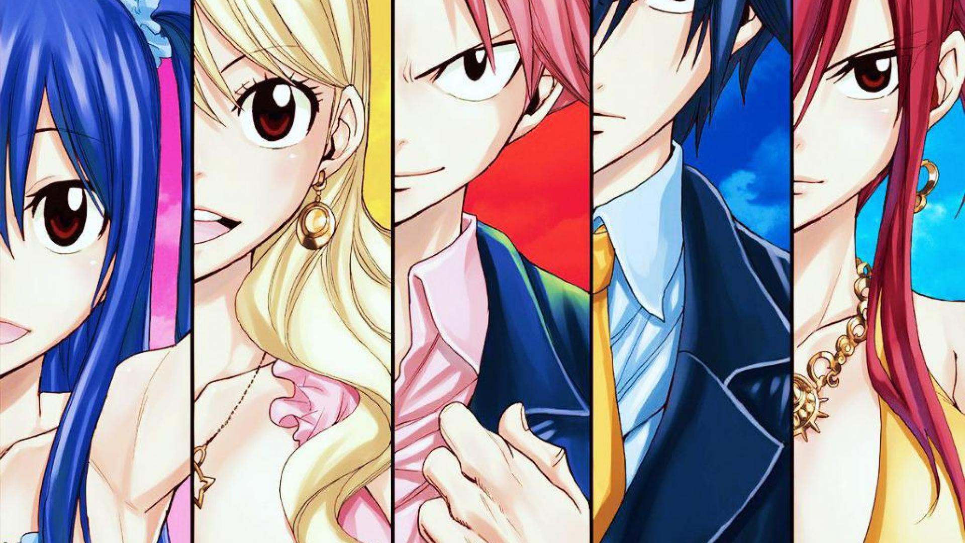 Fairy Tail Wallpapers HD - WallpaperSafari