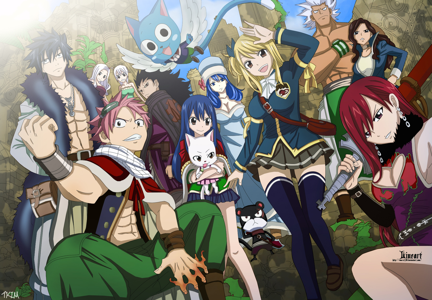 Anime Fairy Tail Wallpaper HD Nice | Coisas para usar | Pinterest