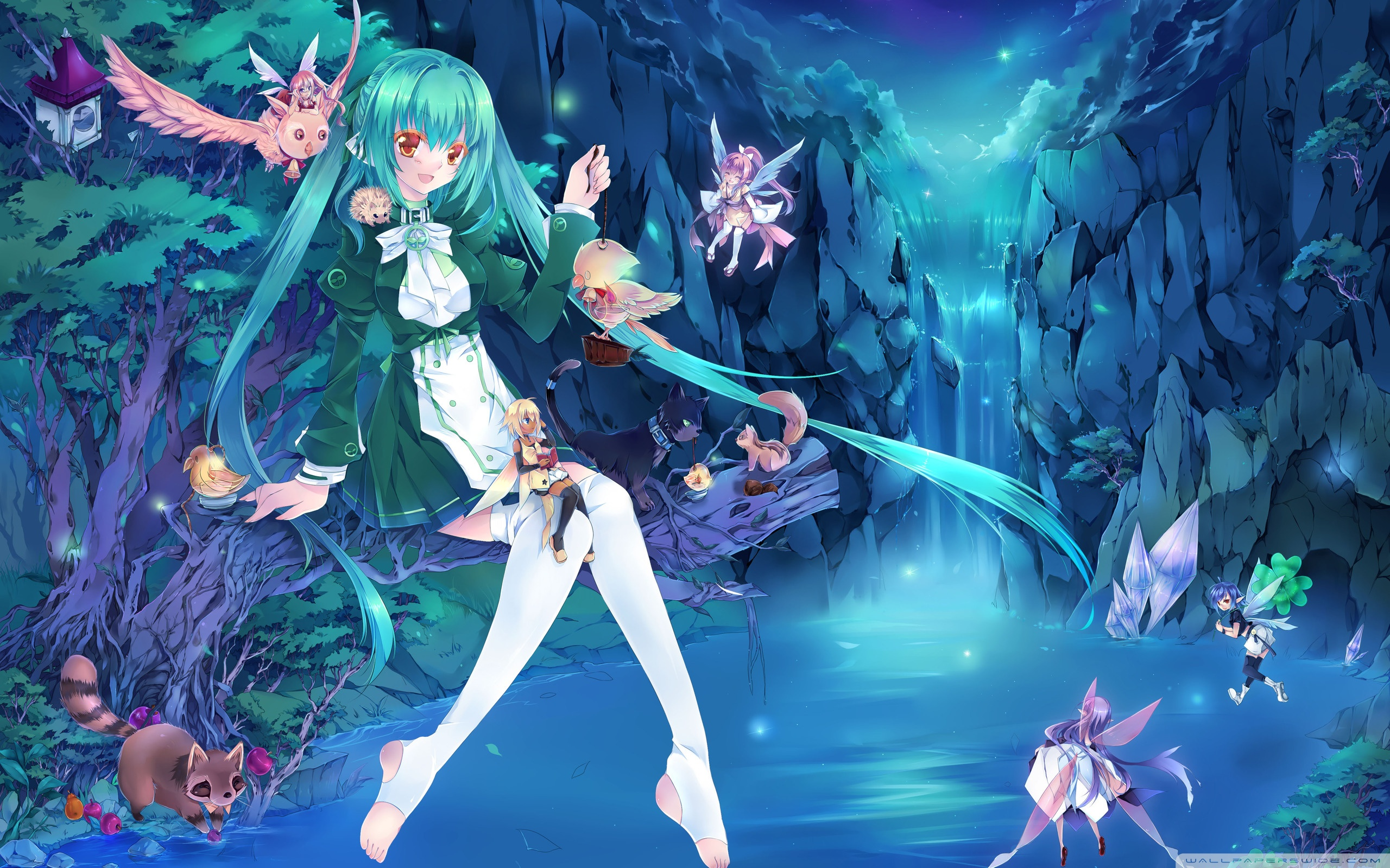 Anime Fairies HD desktop wallpaper : High Definition : Mobile