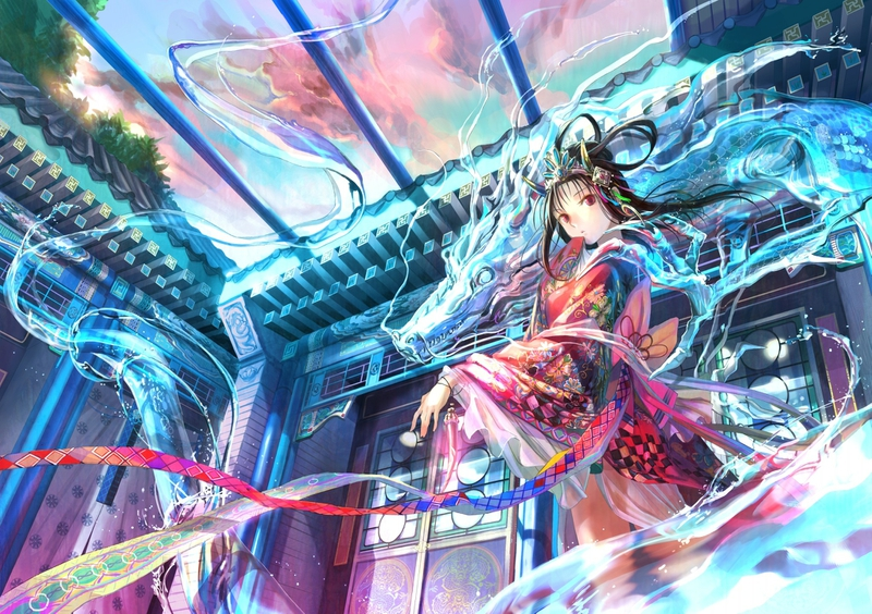 Fantasy Anime Wallpaper