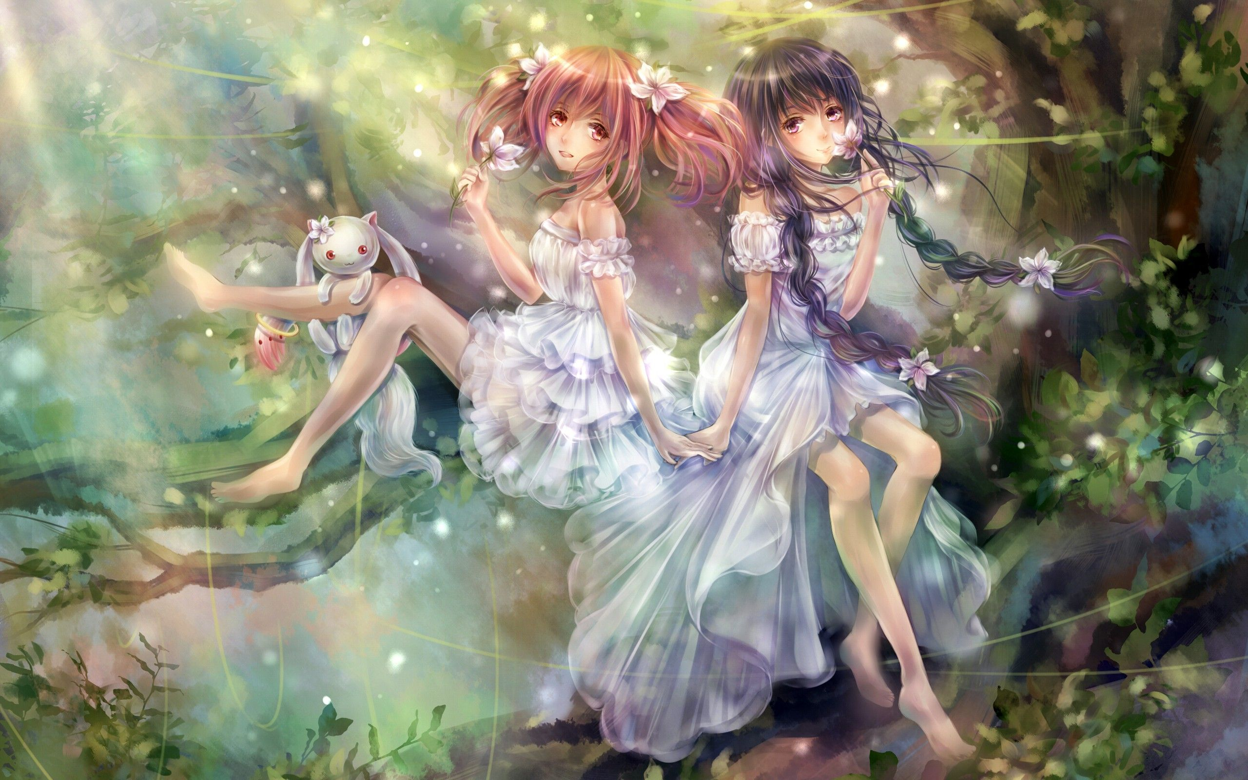 Fantasy Art Magic Anime Girls HD Wallpaper | MathsRabbit