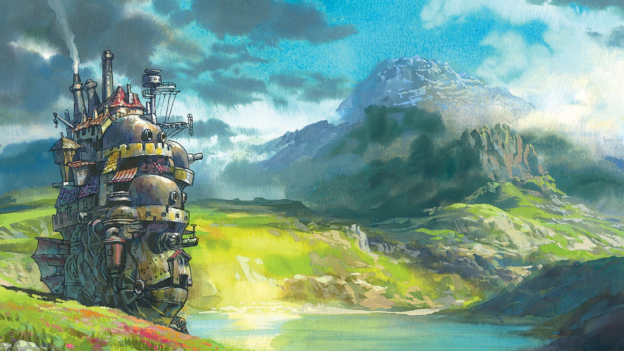 Howl039s Moving Castle Wallpaper