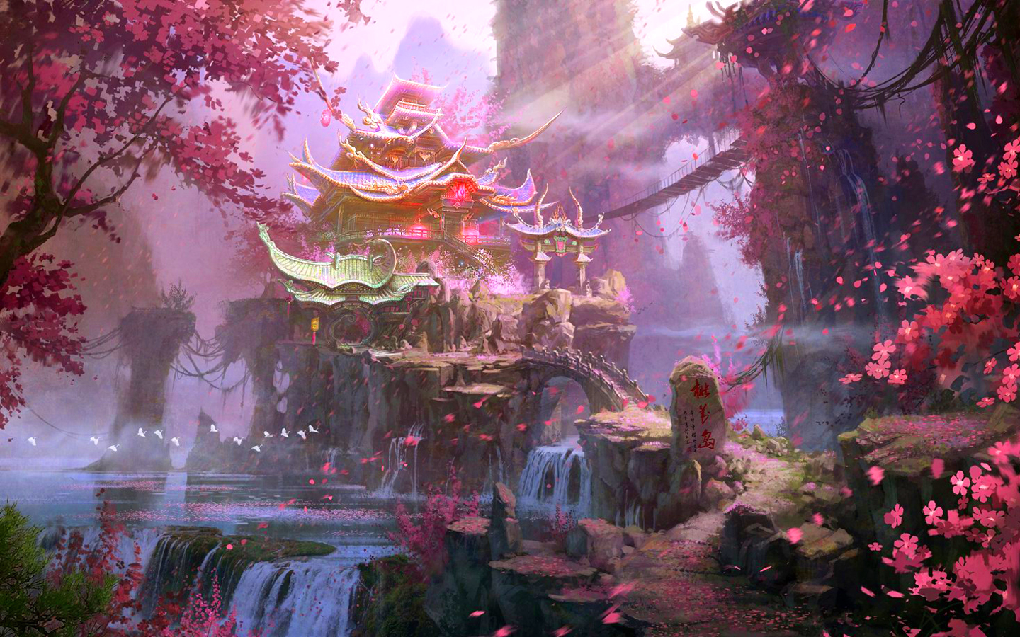 1000+ images about Japanese Fantasy Environment on Pinterest