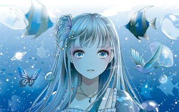 4096 Anime Girl HD Wallpapers   Backgrounds - Wallpaper Abyss