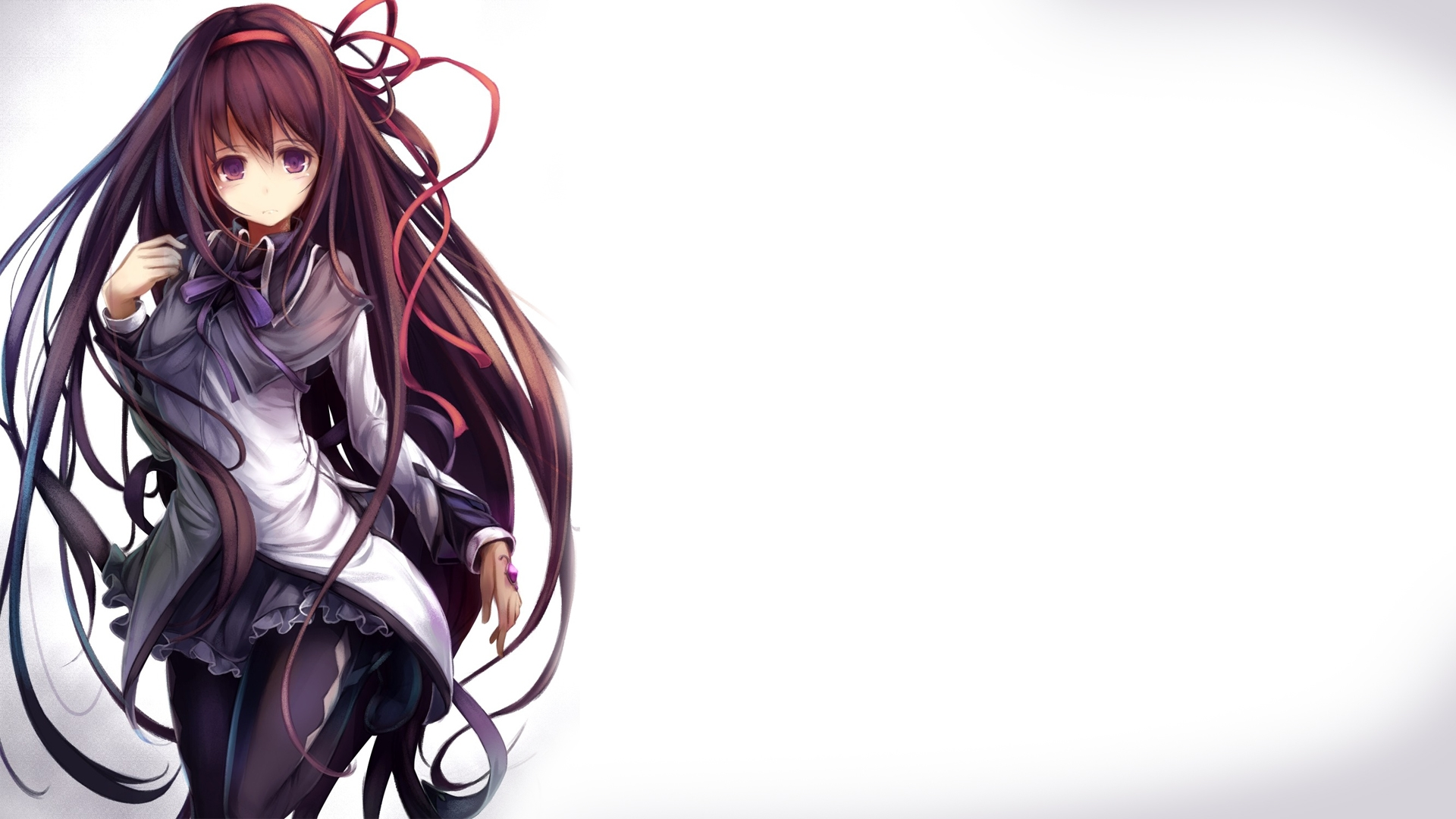 Anime Girl HD Wallpaper 1080p - WallpaperSafari