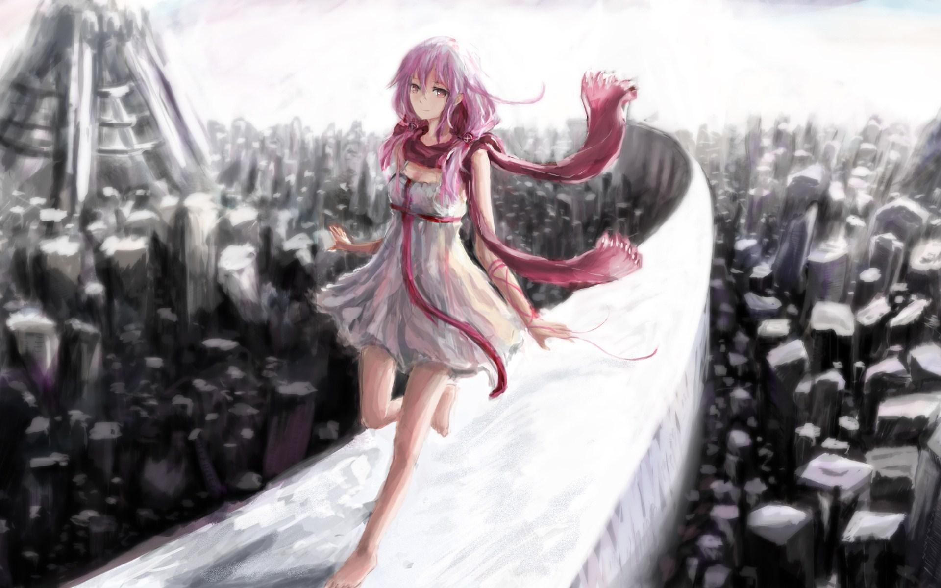 Lovely Anime Girl HD Wallpaper - FreeWallsUp