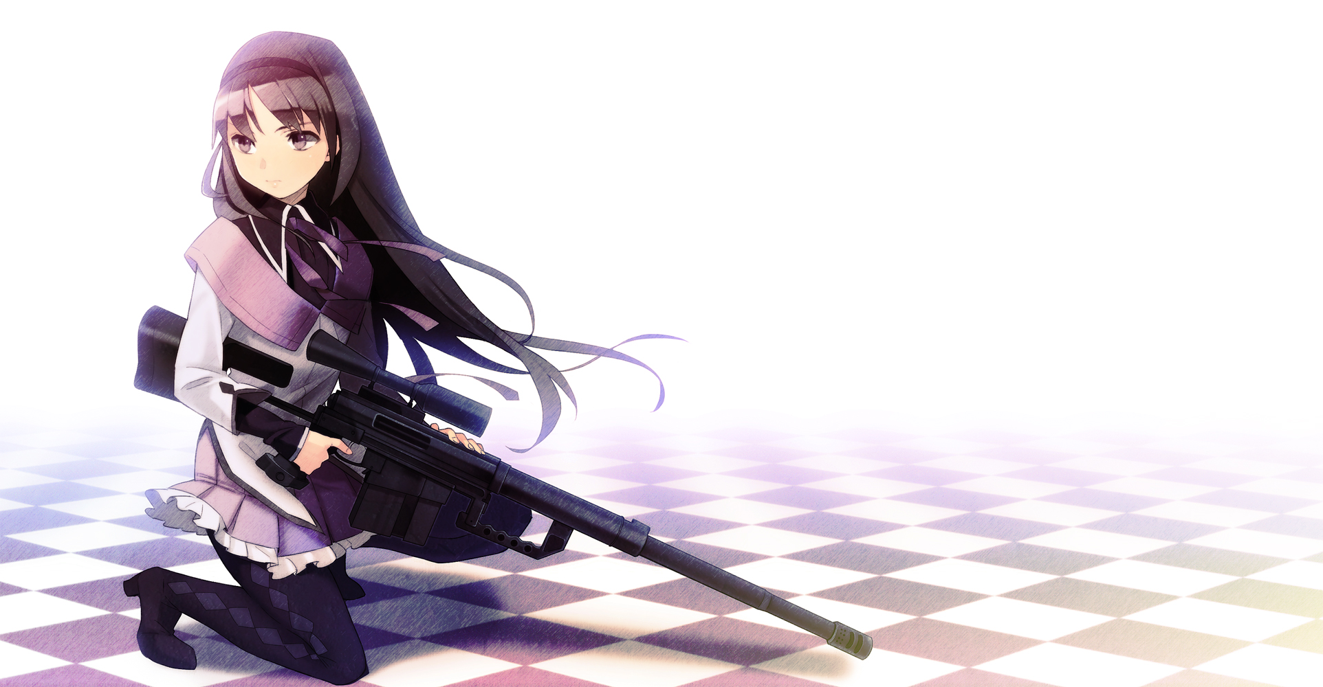 78 Best images about Anime Girls: guns on Pinterest | Rifles, Rail