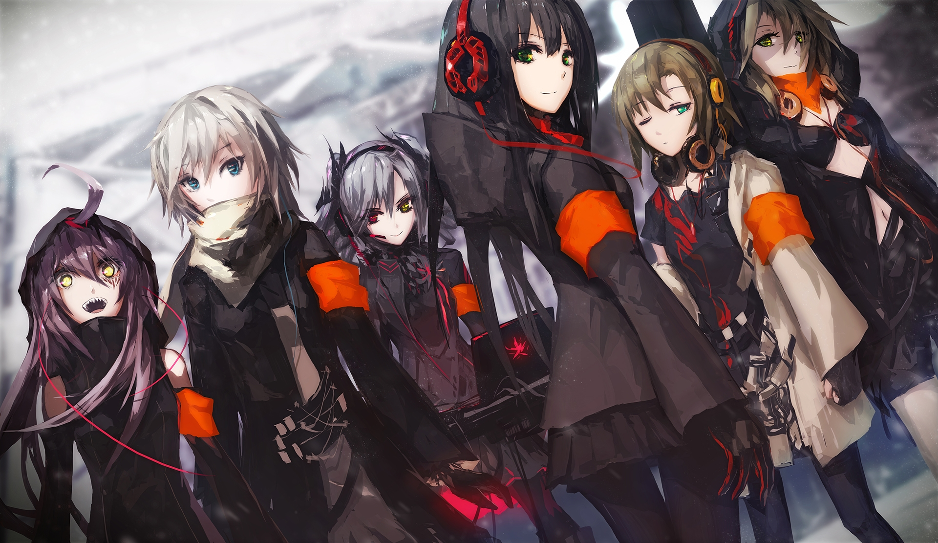 Anime Group Wallpaper - Wallpaper HD Collection