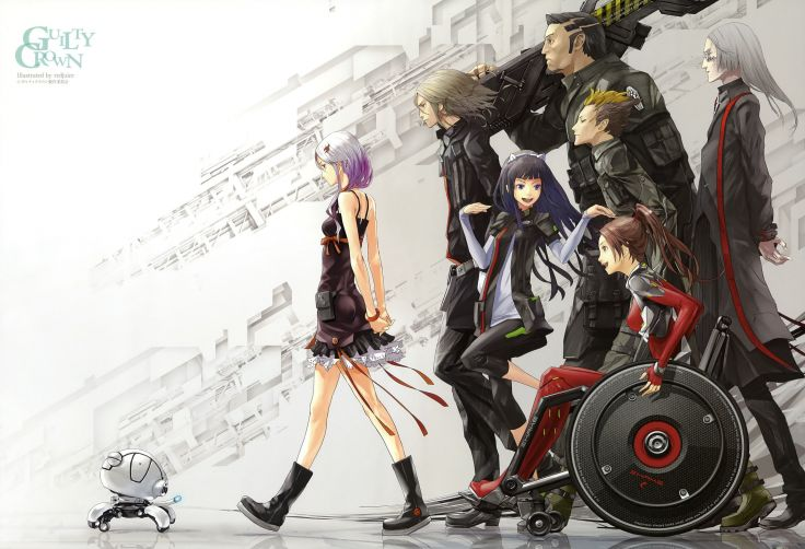 Anime group series guilty crown wallpaper | 3601x2457 | 813437