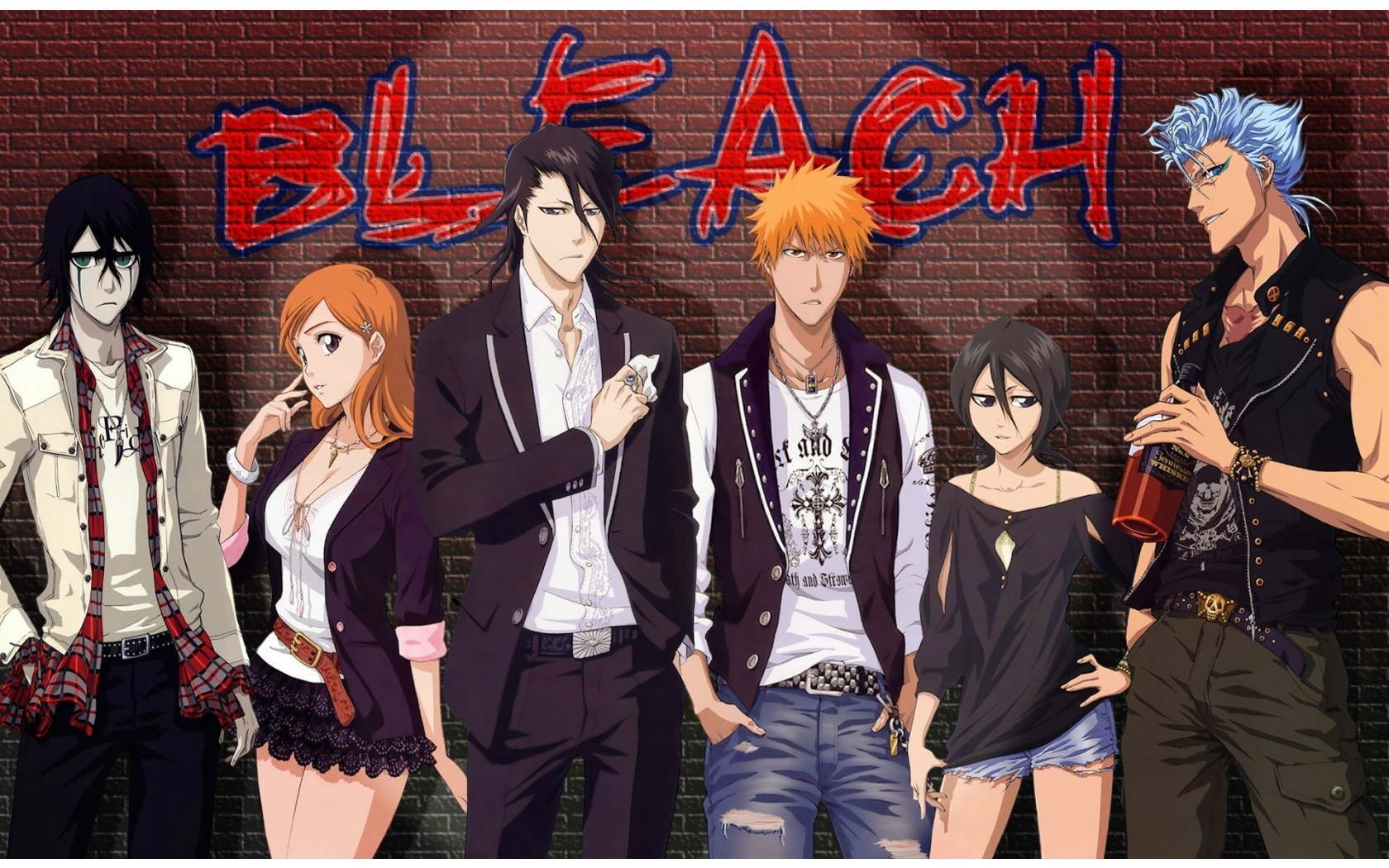 Bleach Anime Group Wallpapers - 1680x1050 - 688388