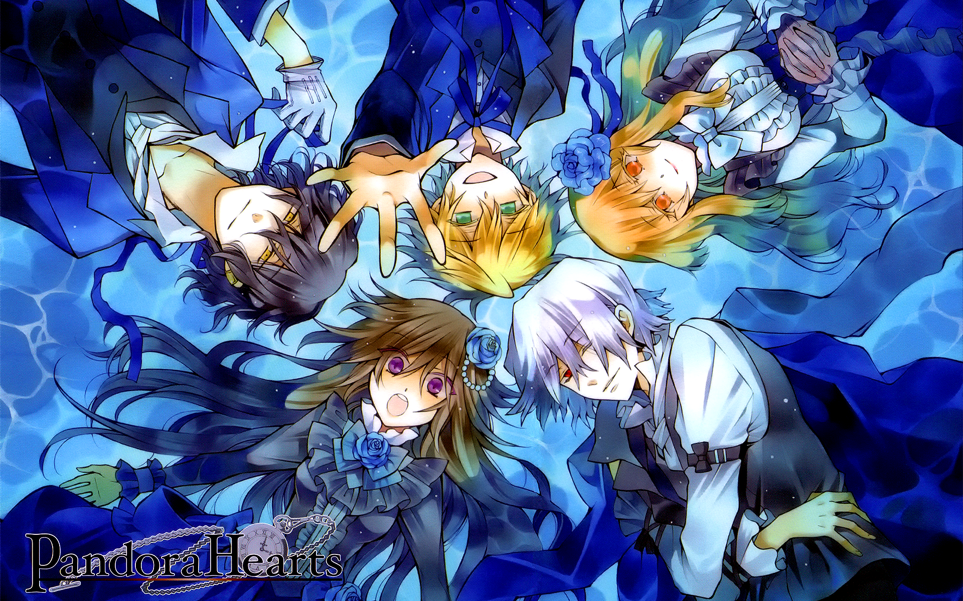Pandora Hearts Characters Wallpaper
