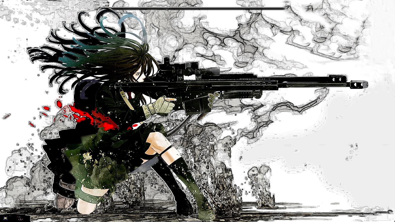 Anime Gun Wallpaper - WallpaperSafari