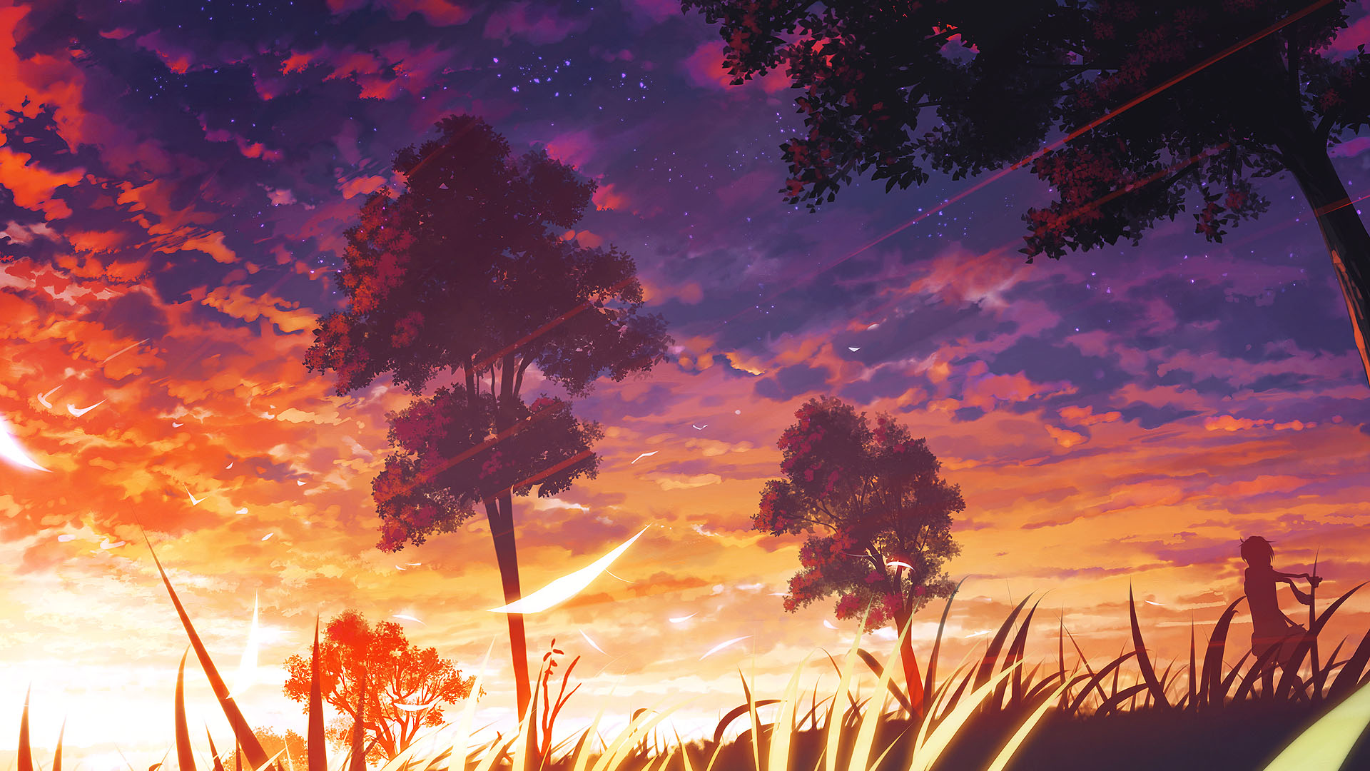 1000+ images about Anime Landscapes on Pinterest | Original art