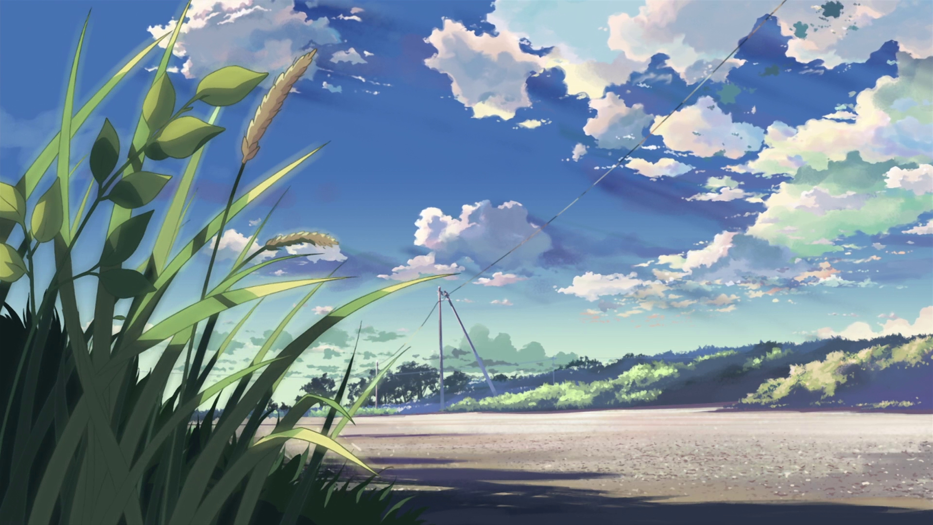 Anime Landscape Wallpaper HD | PixelsTalk Net