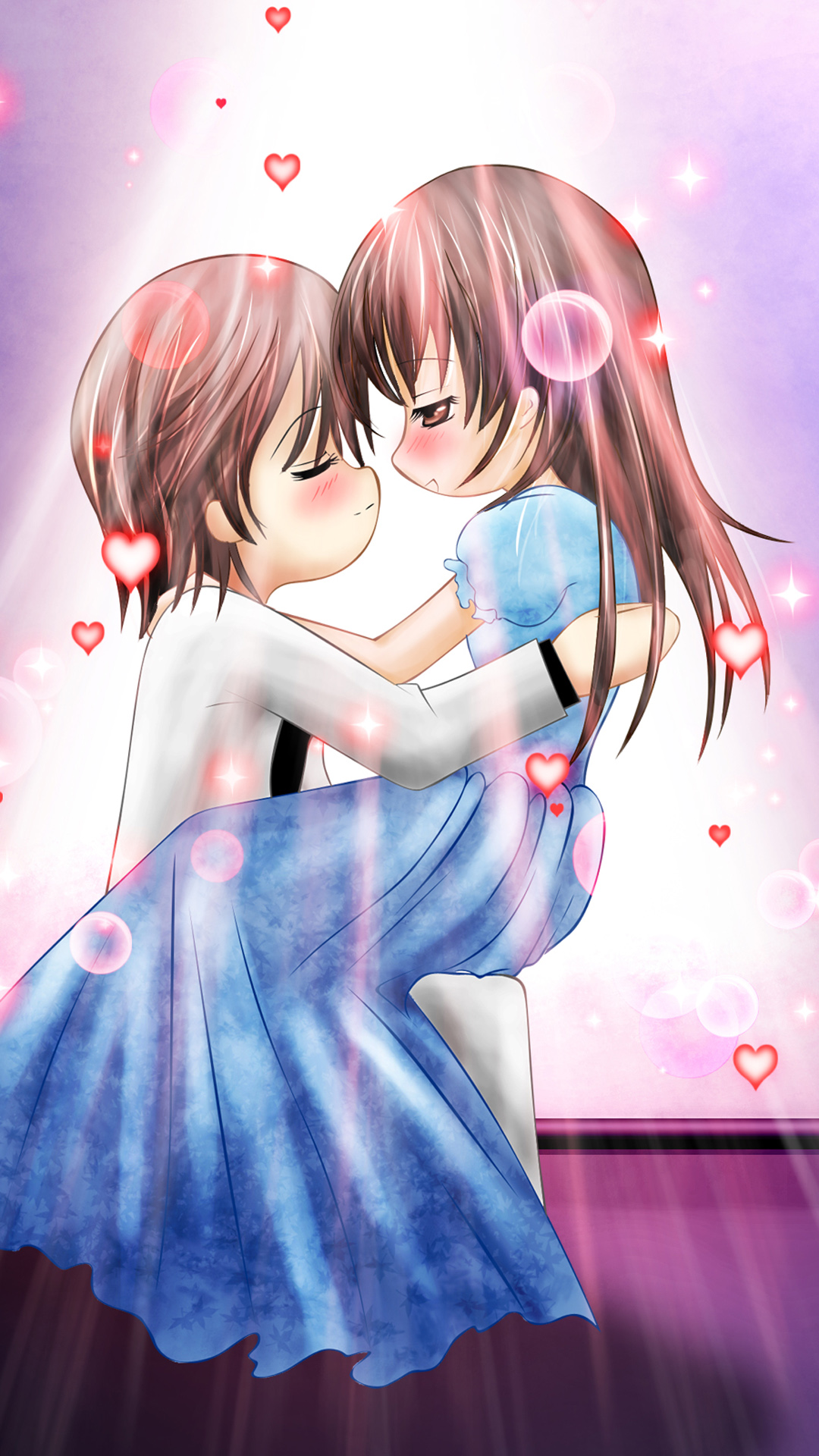 Anime Love Couple Wallpaper Page 1