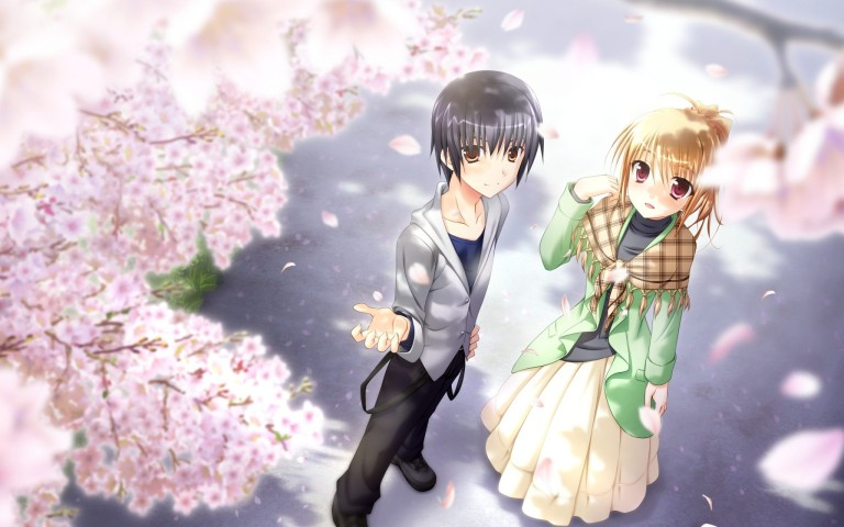 Collection of Anime Love Couple Wallpaper on HDWallpapers