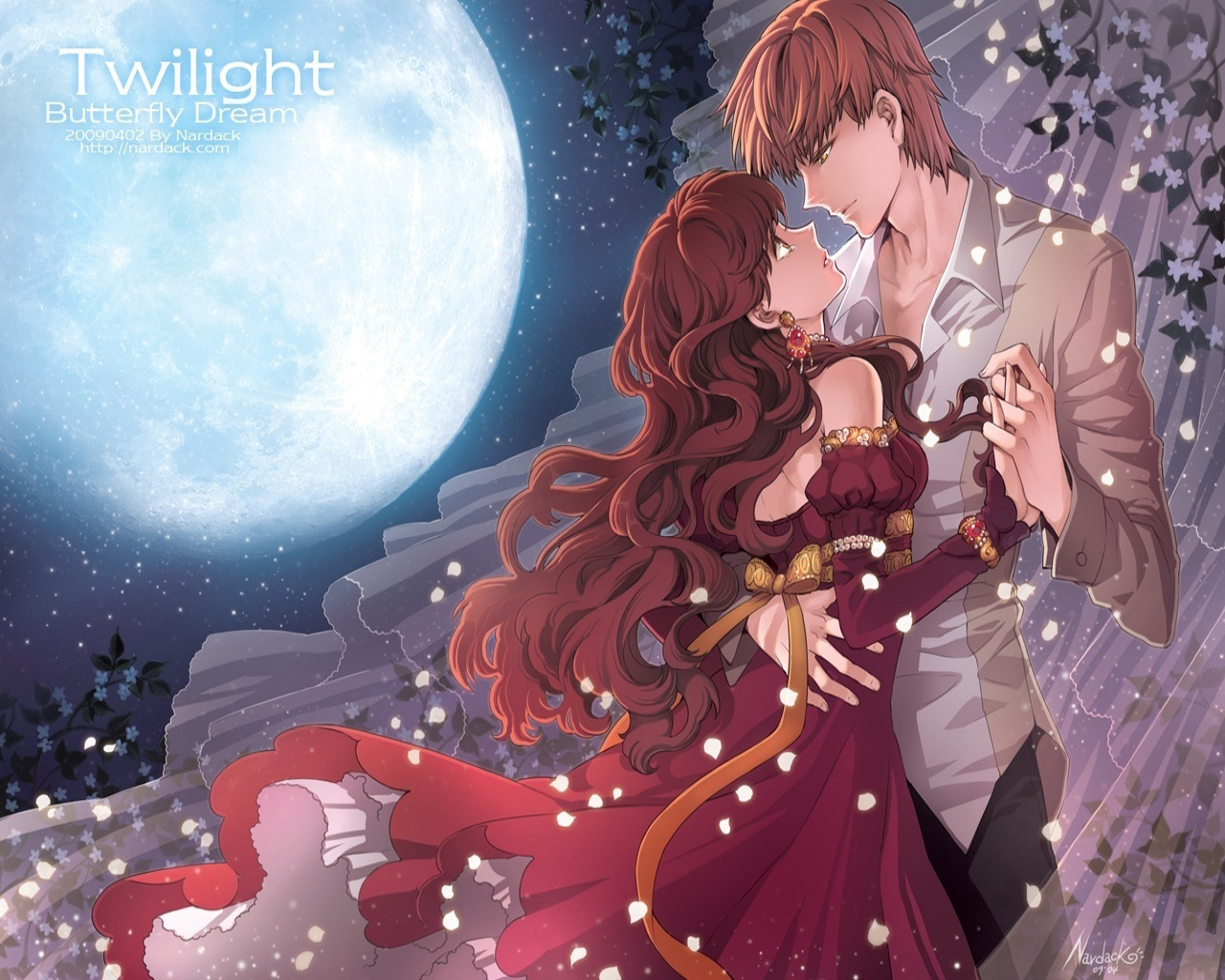 Download Best Anime Love Couple Wallpaper | Full HD Wallpapers
