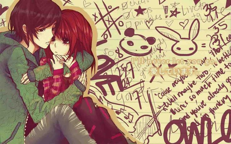 Anime Love Couples Anime Wallpapers HD | 3D Anime Couple