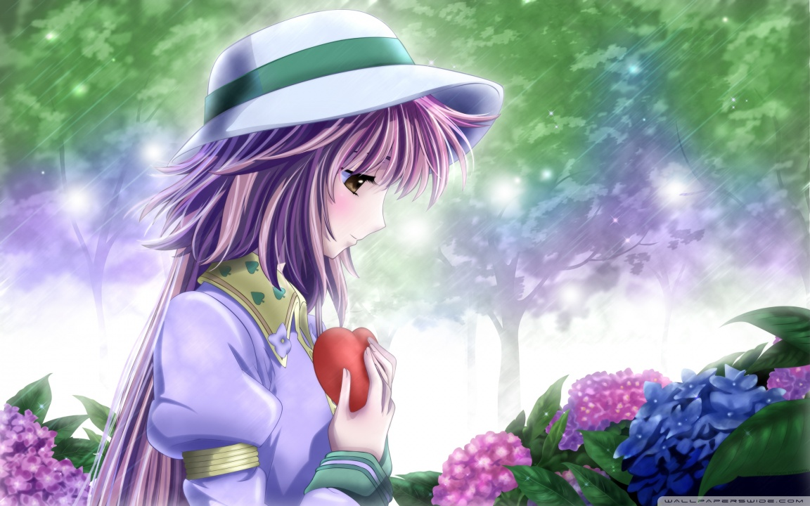 In Love Anime HD desktop wallpaper : High Definition : Fullscreen