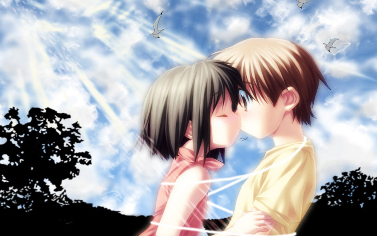 Wallpapers For > Anime Love Wallpapers | Anime | Pinterest | Anime