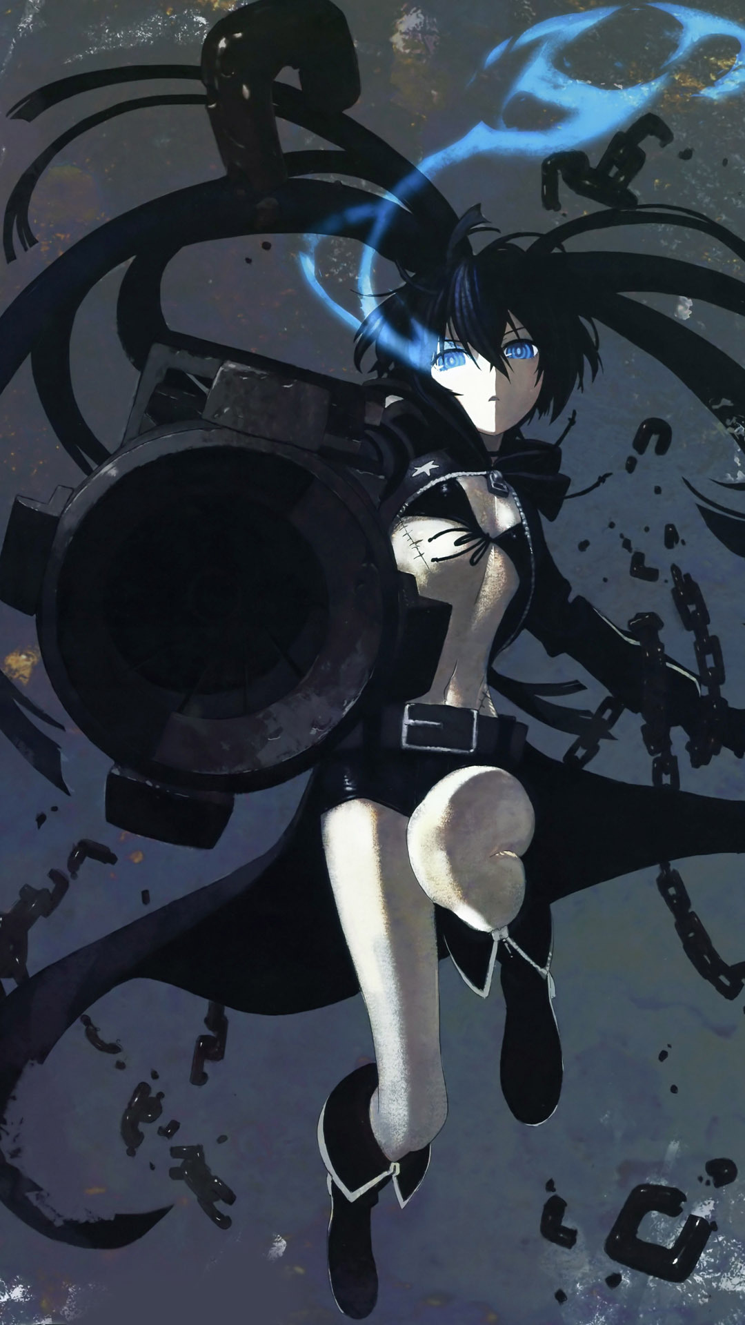 Black-rock-shooter-anime-mobile-wallpaper-1080x1920-12826