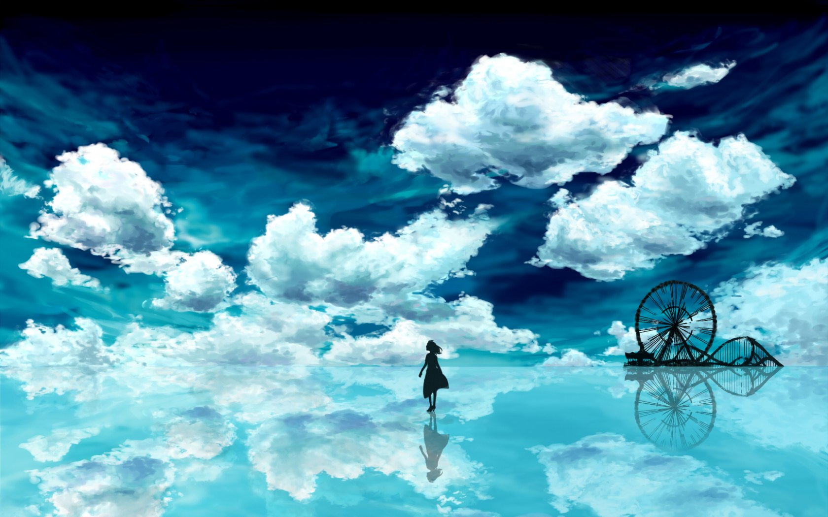 Anime Scenery Wallpaper | Beautiful Anime Scenery Wallpapers | 37