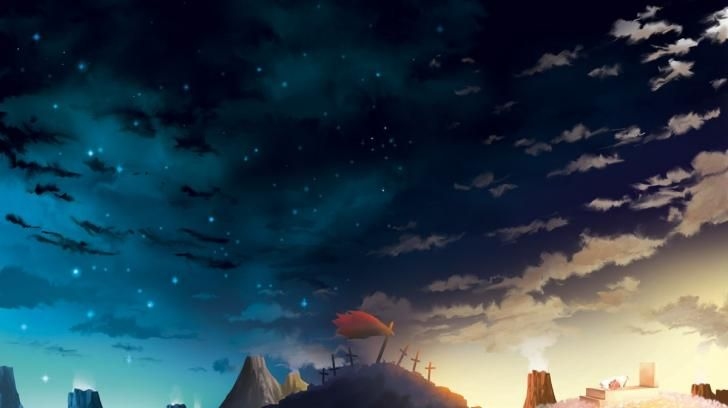 Anime Scenery Wallpaper - WallpaperSafari