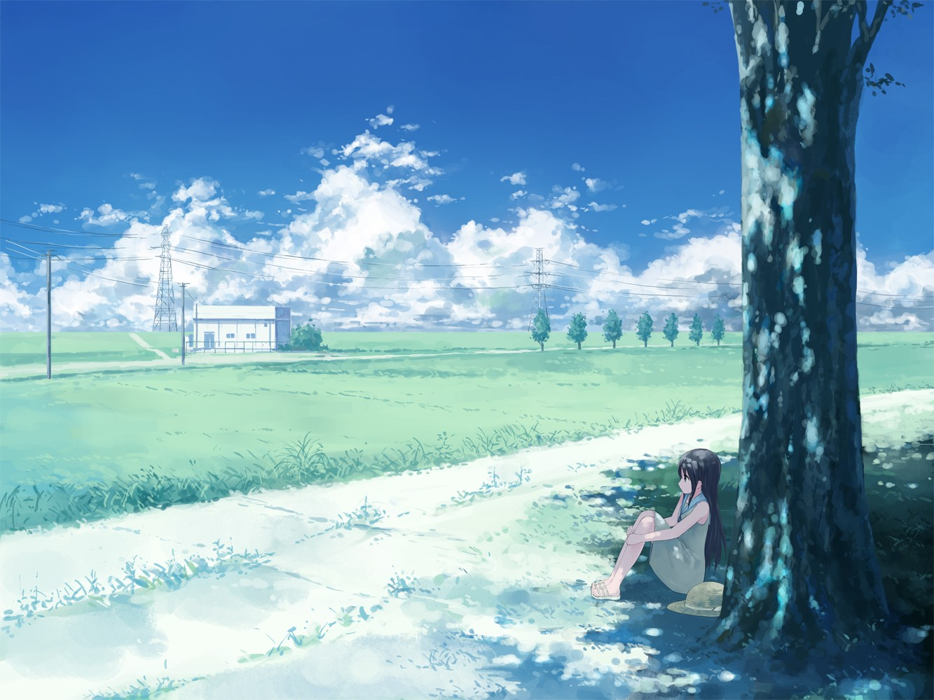 Anime Scenery Wallpaper Hd Background 9 HD Wallpapers | Anime