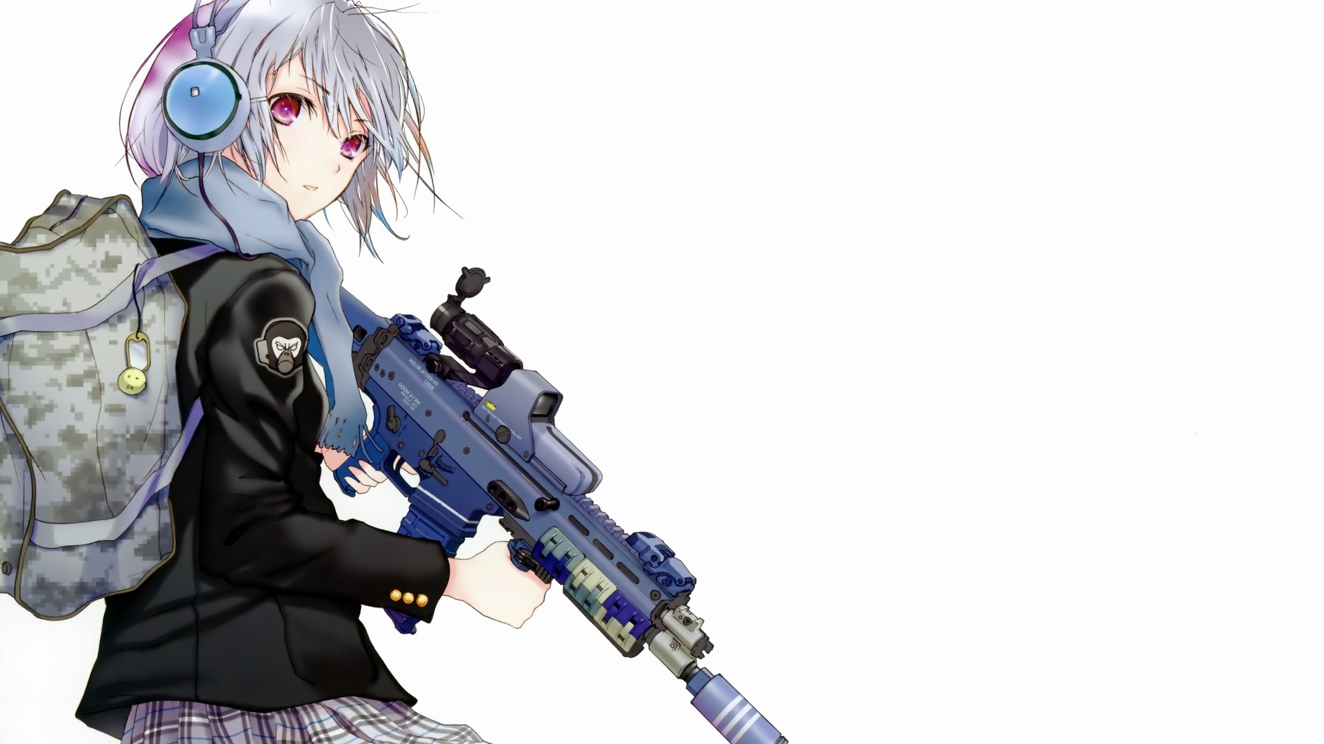 Anime Girl HD Wallpaper 1080p - WallpaperSafari