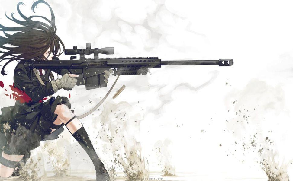 Anime 1920X1080 HD Wallpaper | Wallpapers | Pinterest | Guns