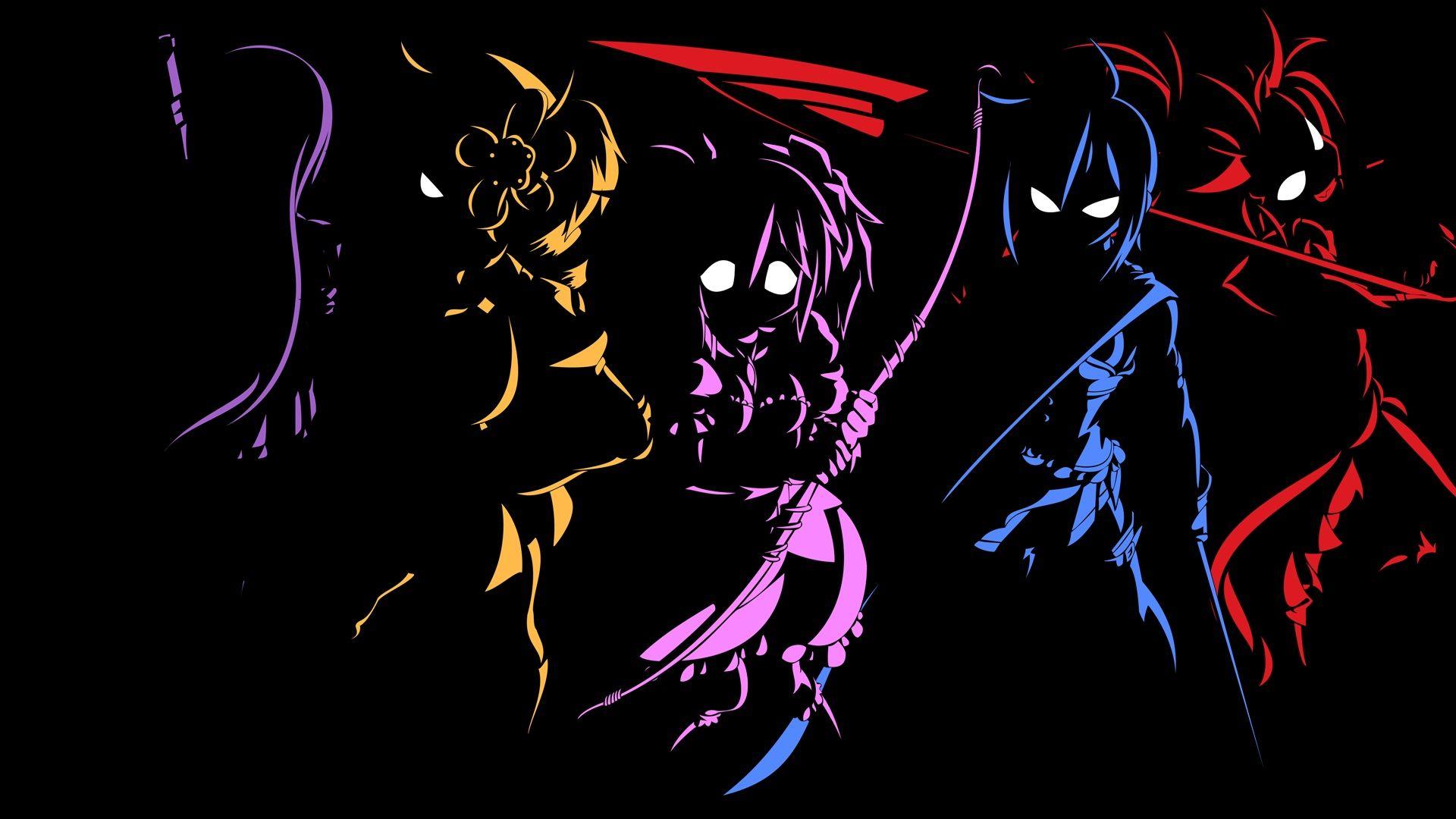 Black Wallpaper Anime Group (68+)