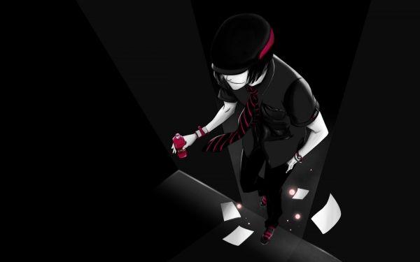 Black Anime Wallpaper | Desktop Wallpapers | Pinterest | Anime