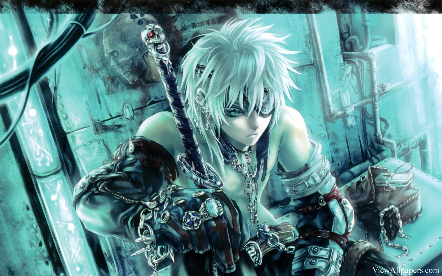 Anime Fighter Warrior Wallpaper High Resolution Free Download