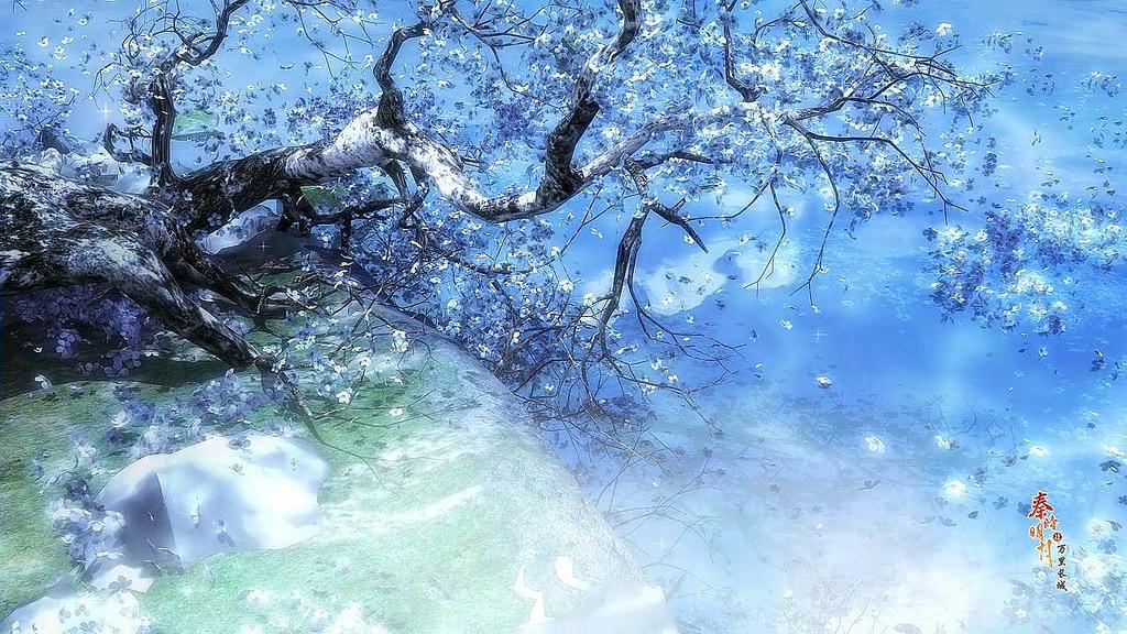 Anime Winter Scenery Wallpaper 6