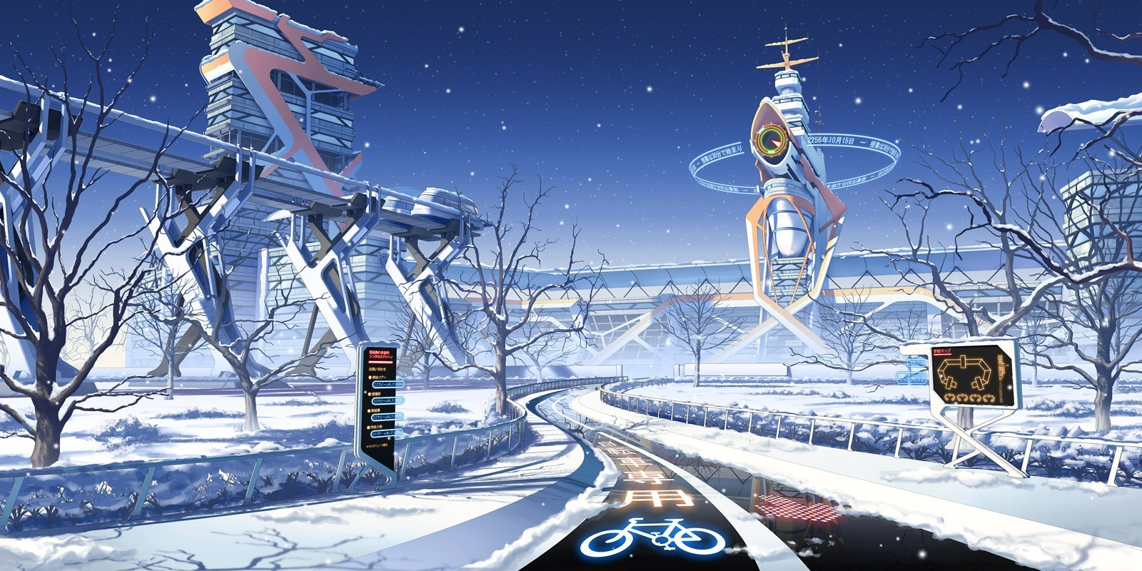 Anime Winter Wallpaper Page 1