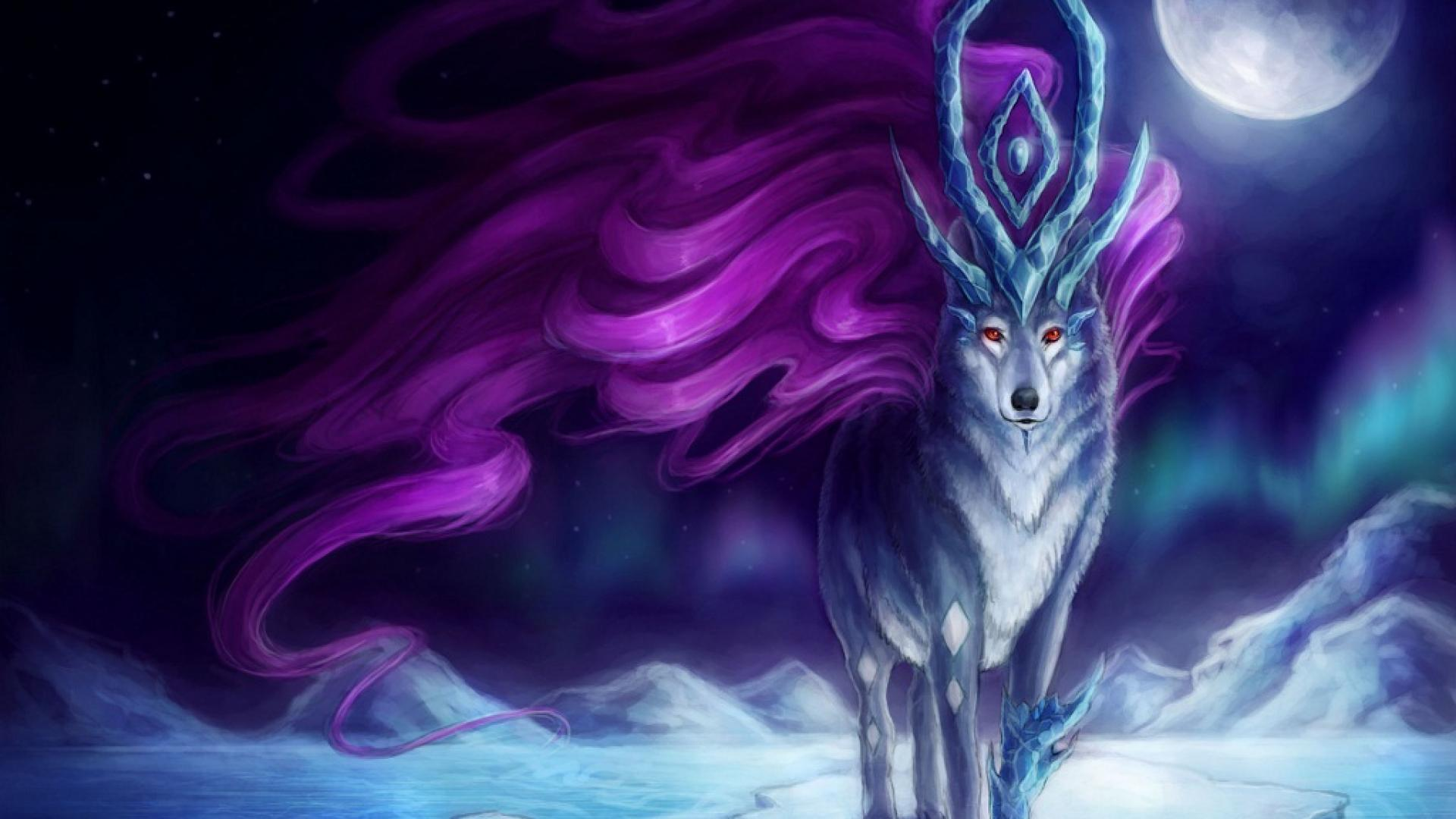 Animated Wolf Wallpapers | Adorable Wallpapers
