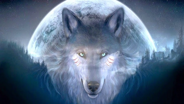 Image - Awesome-Animated-Art-Wolf-HD-Wallpaper jpg | Creepypasta