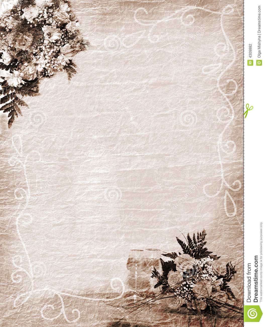 Wedding, Holiday Or Anniversary Background Stock Photography