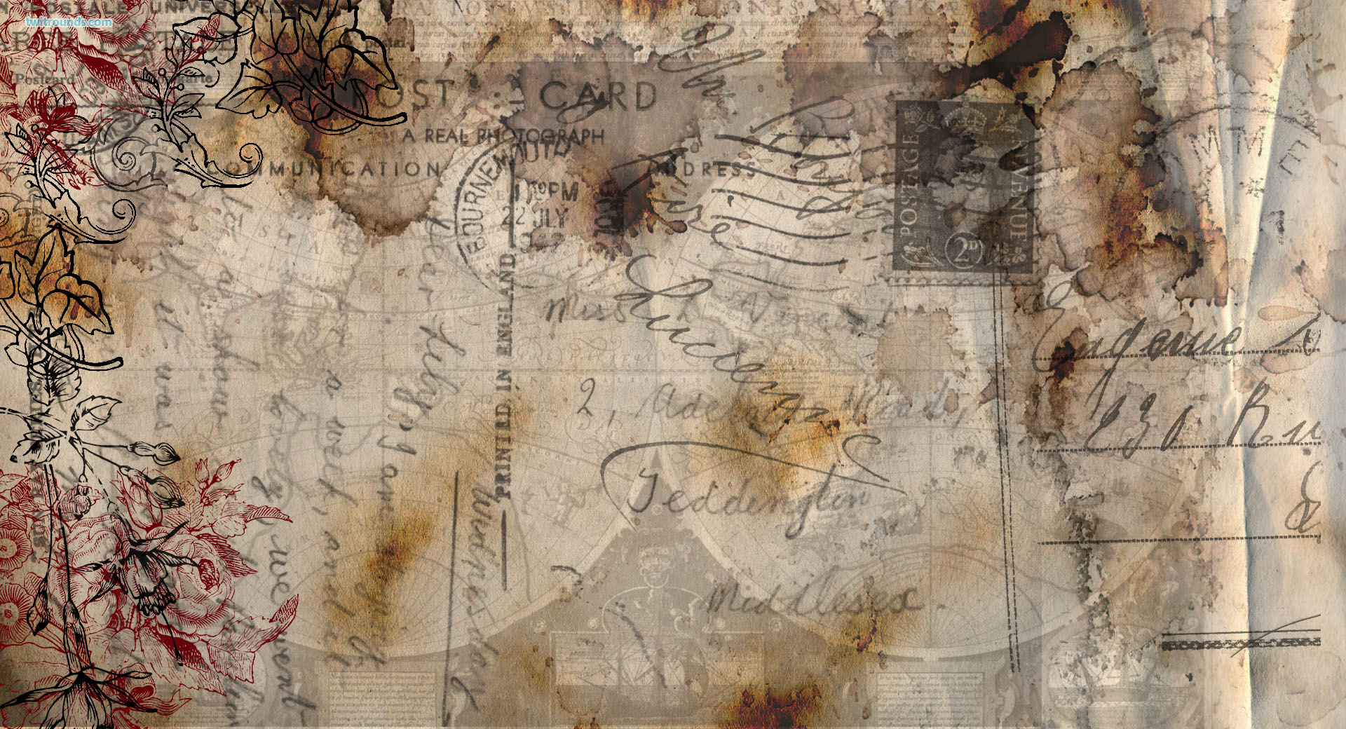 Antique Wallpaper Background - WallpaperSafari