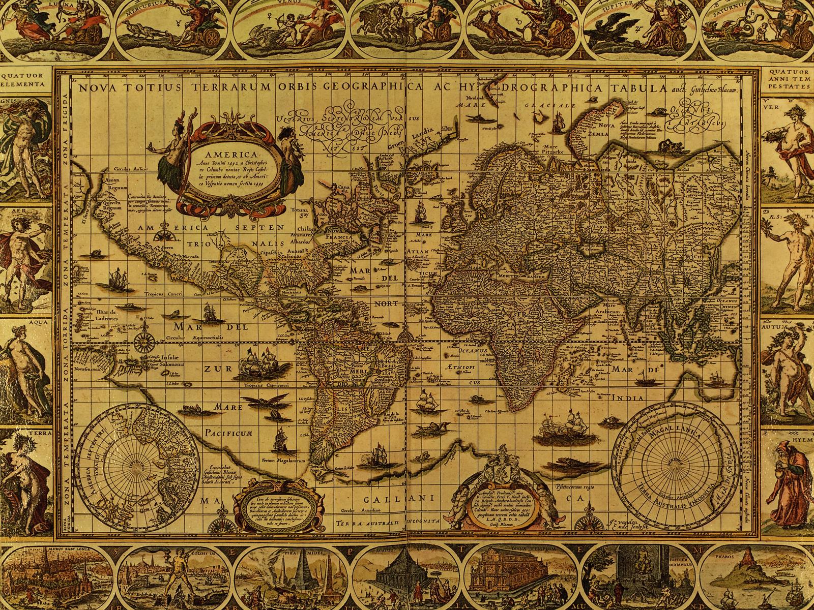Antique world map wallpaper sf wallpaper antique world map wallpaper page 1 gumiabroncs Image collections