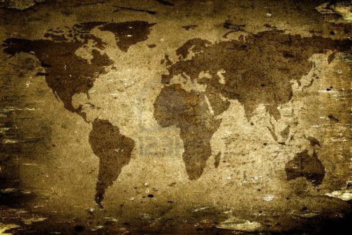 Antique world map wallpaper sf wallpaper old map backgrounds wallpaper cave gumiabroncs Images