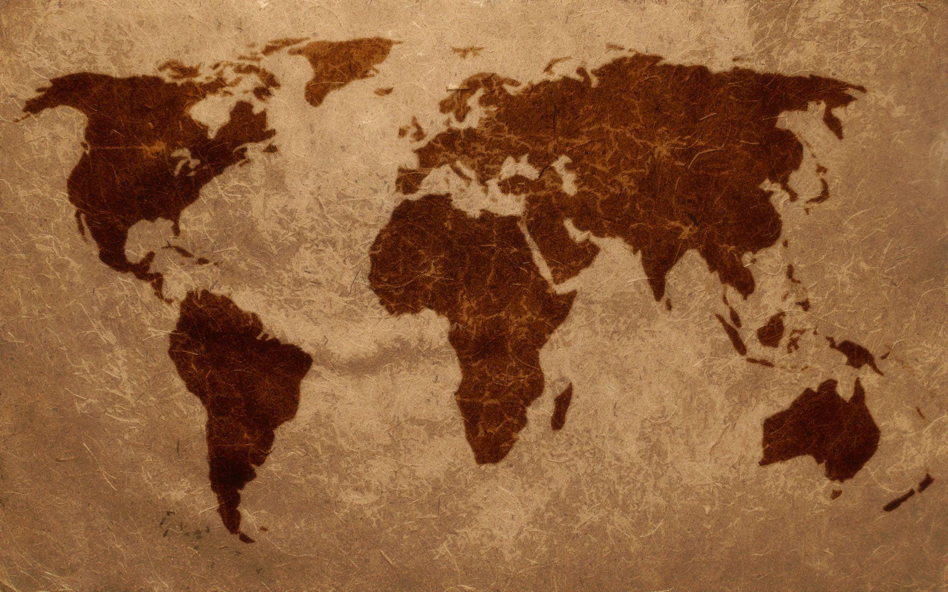 World map wallpaper - SF Wallpaper
